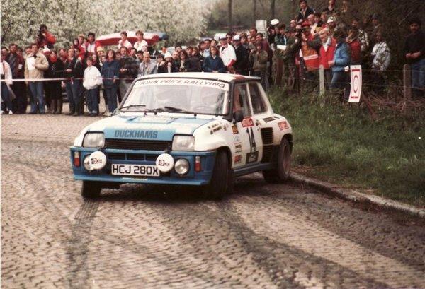 photos ou autres documents d' une R5 Turbo anglaise Picture